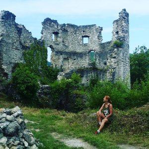 Castle ruins, Samobor, Croatia